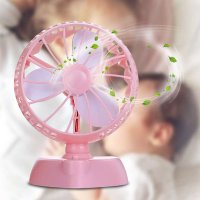 Rechargeable Handheld Fan USB Portable Desk 180 Degrees Mini Fan for Office Outdoor Fans USB Gadgets